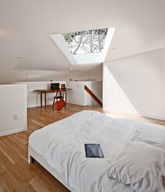 i really want a window in the ceiling or an attic