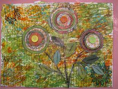 Artist Angela Anderson shares kids art projects, art instruction ideas, video tutorials, and paintings in her art blog.