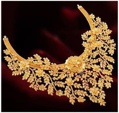 Real Gold Jewelry, Gold Jewellery Design, Handmade Jewellery, Swarovski Jewelry, Indian Gold Jewellery, Steel Jewelry, Fine Jewelry, Mode Blog, Gold Anklet
