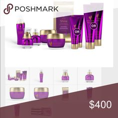 Younique royalty line My line of skin care products will leave you feeling refreshed during any time of day. The beautiful purple packaging and adorable carrying case is an added bonus! Get in touch with me personally to pick out which cleansers you want in your kit. Each item in the kit is also available for individual sale Younique Other