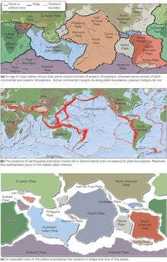 Learning Geology What Do We Mean by Plate Tectonics?  sc 1 st  Pinterest & Diagram illustrating the plate-tectonic setting of southern ...