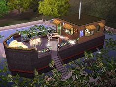 Mod The Sims - The Houseboat