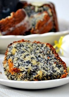 Flourless Almond Poppy Seed Bundt Cake