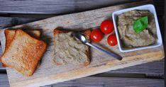 Padlizsánkrém Butcher Block Cutting Board, Ricotta, Food And Drink
