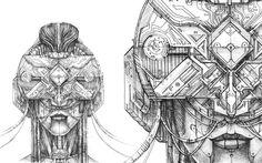 Sketches Set #23. VR Kokoshnik. on Behance