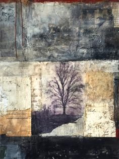 The Longest Journey is an encaustic mixed media painting. The artist is…