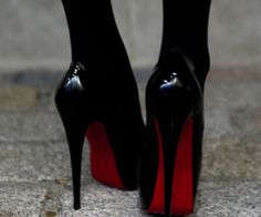Heels- you reach an age where you just can't do these anymore! Love though...