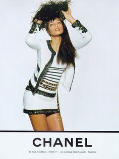 ☆ Brandi Quinones | Photography by Karl Lagerfeld | For Chanel Campaign | Spring 1994 ☆