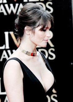 """""""Gemma Arterton at the 2015 Olivier Awards """""""