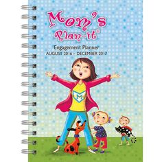 Mom's Plan-it Softcover Weekly Planner is the must-have organizing tool for every on-the-go mom! Modern and smart,...Check out today's free shipping offer!