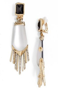 Alexis Bittar 'Lucite® - Dangling Fringe' Drop Earrings available at #Nordstrom