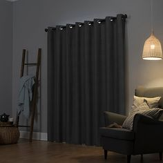 Sun Zero Cameron Thermal Insulated 100% Blackout Grommet Curtain Panel   Kohls Curtains Kohls, Grommet Curtains, Blackout Curtains, Window Curtains, Thermal Insulation, Curtain Rods, Zero, Sun