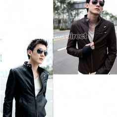$16.70 Slim Fit Designed Synthetic Jacket