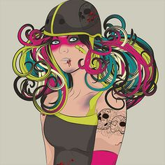 Your Roller Derby Name is Zombie Stardust  Whip it!