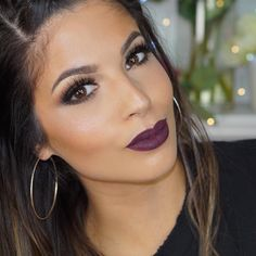 New video at 2pm PST  Lips @stilacosmetics #liquidlipstick Chianti  @makeupforeverofficial Ultra HD foundation  @anastasiabeverlyhills #browdefiner in med brown @houseoflashes in smokey muse @artistcouture diamond glow powder YASSS!  #artistcouture #anastasiabeverlyhills #anastasiabrows #wakeupmakeup #hudabeauty #stilacosmetics #stila #vegas_nay #instamakeup #makeup #makeupforever #mufe #cakefaceconfession #cakeface by larlarlee
