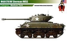 M4A1(76)W Sherman HVSS
