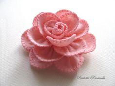 Felt Rose Pins