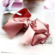 Min.order is $10 (mixed order) fashion charm silks and satins double layer bow hair clips hairpin-in Hair Jewelry from Jewelry on Aliexpress.com
