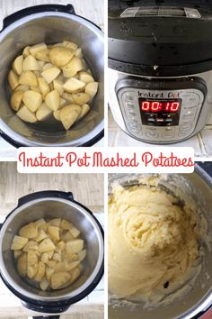 Can You Cook Mashed Potatoes in an Instant Pot? - Eat Like No One Else Can You Cook Mashed Potatoes in an Instant Pot? - Eat Like No One Else Jana Gusman gusmanj Instant pot duo crisp air fryer recipes Can You Cook Mashed Potatoes in an Instant Pot Mashed Potatoes With Skin, Instapot Mashed Potatoes, How To Cook Potatoes, Yukon Gold Mashed Potatoes, Easy Potato Recipes, Mashed Potato Recipes, Pressure Cooker Mashed Potatoes, Gnocchi Vegan, Kitchens