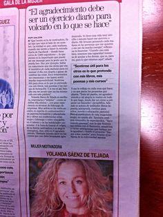 Premio provincial : Mujer motivadora. ¡¡¡¡qué ilusión!!!!