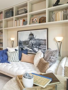 Book Case Organizing - Cozy - Woodmore Towne Centre TH in Lanham MD by D.R. Horton - New Homes Guide
