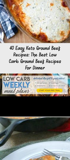 40 Easy Keto Ground Beef Recipes: The Best Low Carb Ground Beef Recipes For Dinner - Clean Recipes Ground Beef Recipes For Dinner, Low Carb Dinner Recipes, Keto Dinner, Easy Delicious Recipes, Clean Recipes, Yummy Food, Mint Chocolate Chip Cookies, B Recipe, Family Fresh Meals