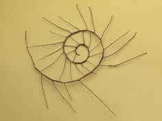 Find the latest shows, biography, and artworks for sale by Andy Goldsworthy. Andy Goldsworthy creates outdoor sculpture using an endless array of natural mat… Abstract Sculpture, Bronze Sculpture, Wood Sculpture, Metal Sculptures, Andy Goldworthy, Andy Goldsworthy Art, Ammonite, Land Art, Woods
