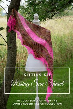 Lace Knitting Patterns, Knitting Kits, Knitting Yarn, Free Knitting, Ravelry, Online Yarn Store, Rising Sun, Knitting Accessories, Stockinette