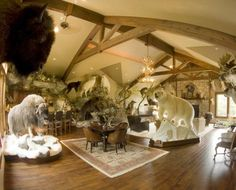 Jim Shockey S Man Cave Trophy Rooms Man Room Picture