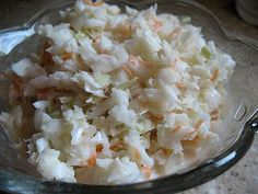 KFC Coleslaw recipe... love KFC coleslaw