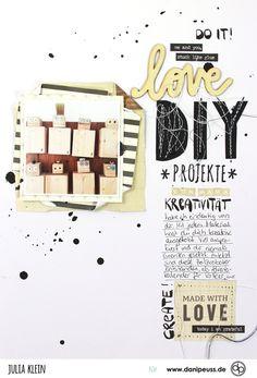 DIY Projekte von Mama | Layout mit dem Juli Kartenkit | von Julia Klein für www.danipeuss.de
