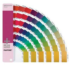 Pantone - Pantone Graphics Plus Series - Metallics, Pastels & Neons