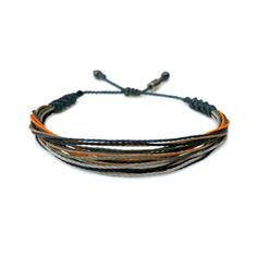 BOYS BRACELET SURFER STYLE: This hand-knotted multi-strand mens thread bracelet includes two genuine Hematite stones and a RUMI SUMAQ logo bead. In a masculine color combination of navy, orange, military green and gray cord it is a great bracelet for men, teenage boys, and young boys alike. Purchase two or more guy bracelets as a symbol of solidarity with your brother, father or best friends. SIZING of BOYS and MENS BRACELET:The bracelet is custom made in all sizes from XS up to XL making this b Boys Bracelets, Thread Bracelets, Best Friend Gifts, Gifts For Friends, Guy Gifts, Gifts For Surfers, Birthday Gifts For Boys, Jewelry Art, Male Jewelry