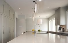 To cook pleasant good Modern Kitchen Lighting is necessary. With Modern Kitchen Lighting is wise to pay attention to. Several points A good lighting system creates a pleasant atmosphere.