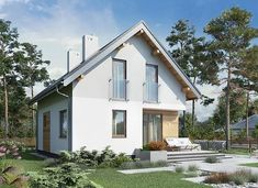 Eklerka - murowana – beton komórkowy - zdjęcie 3 Shed, Outdoor Structures, House Styles, Outdoor Decor, Home Decor, Arquitetura, Houses, Decoration Home, Room Decor