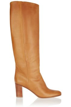 Maison Margiela | Leather knee boots | NET-A-PORTER.COM
