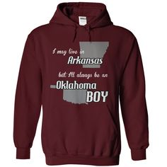 (Tshirt Cool Design) Arkansas Oklahoma Boy Shirts of month Hoodies, Funny Tee Shirts