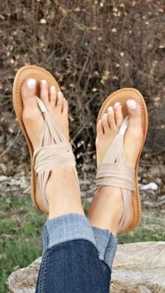 Super cute stitch fix sandals!