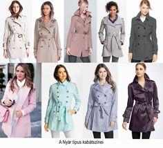 THE SUMMER TYPE TRENCHCOAT COLORS