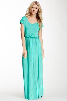 Scoop Neck Maxi Dress on HauteLook