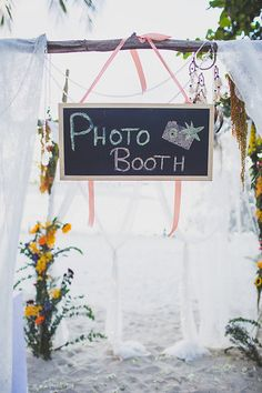 Photo Booth #samuiweddings #photobooth Photo by Cherry May Ward