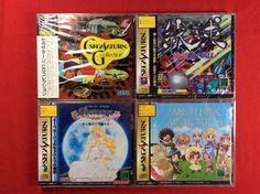 Sega Saturn Game Set Japan  #retrogaming #HotSS  #saturnday all new sealed: True Pinball Eberouge Special Another Memories and Sega Saturn CG Collection (VideoCD). Very good price atm. Spine cards could be sunfaded.