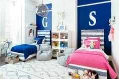 Proyecto decoración habitación para niño y niña | Decoideas.Net