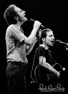Simon & Garfunkel by Ron Pownall