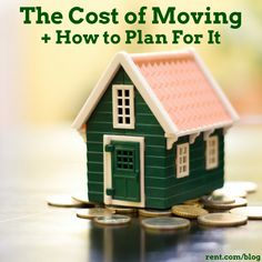 Moving costs can quickly add up, especially if you are not prepared. Here an estimate of the cost of moving and how to plan it.