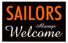 Sailors Always Welcome