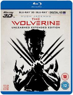 The Wolverine [Blu-ray 3D + Blu-ray] 2016