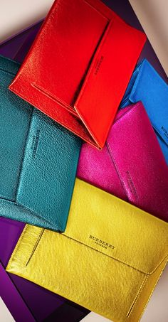 2015 Color Trendy Shiny clutches