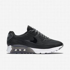 promo code 8ad13 94bdb  102.13 nike air max 90 essential dark grey,Nike Womens Black Dark  Grey Pure Platinum Black Air Max 90 Ultra Essential Shoe
