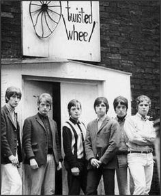 The Twisted Wheel Club, Manchester.